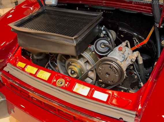 Porsche 930 Flachbau Engine Features