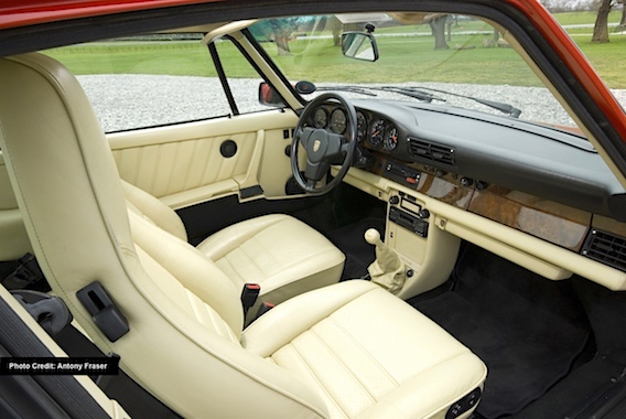 The interior of my Special Wishes 911 Slantnose